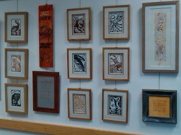Art displayed in the Centre